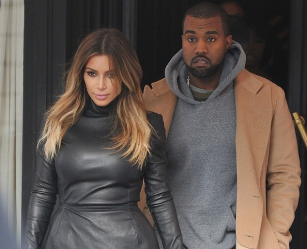 Paris Kim Kardashian and Kanye West lunch at 'L'Avenue'